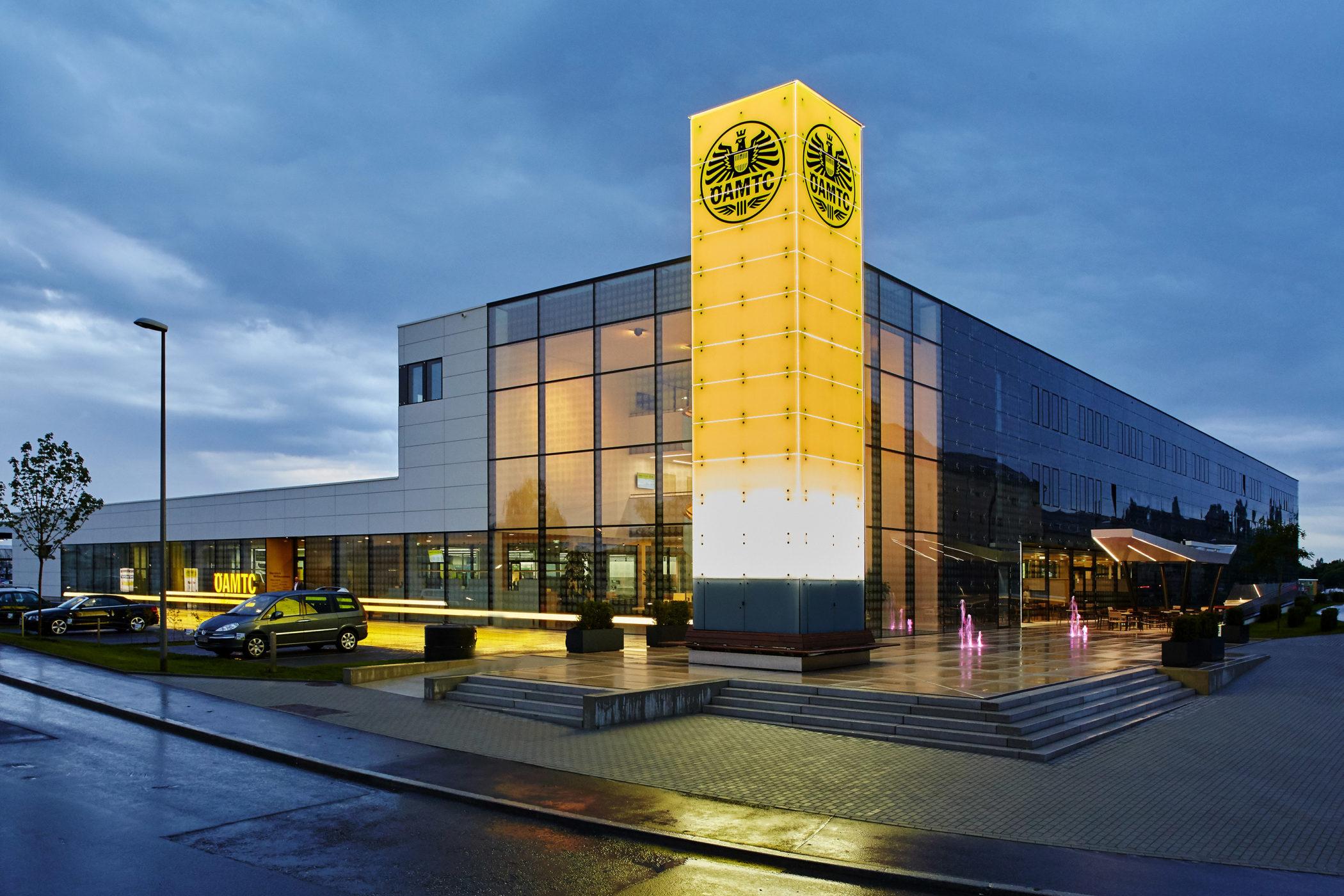 ÖAMTC Graz, Architektur, Gebäude,