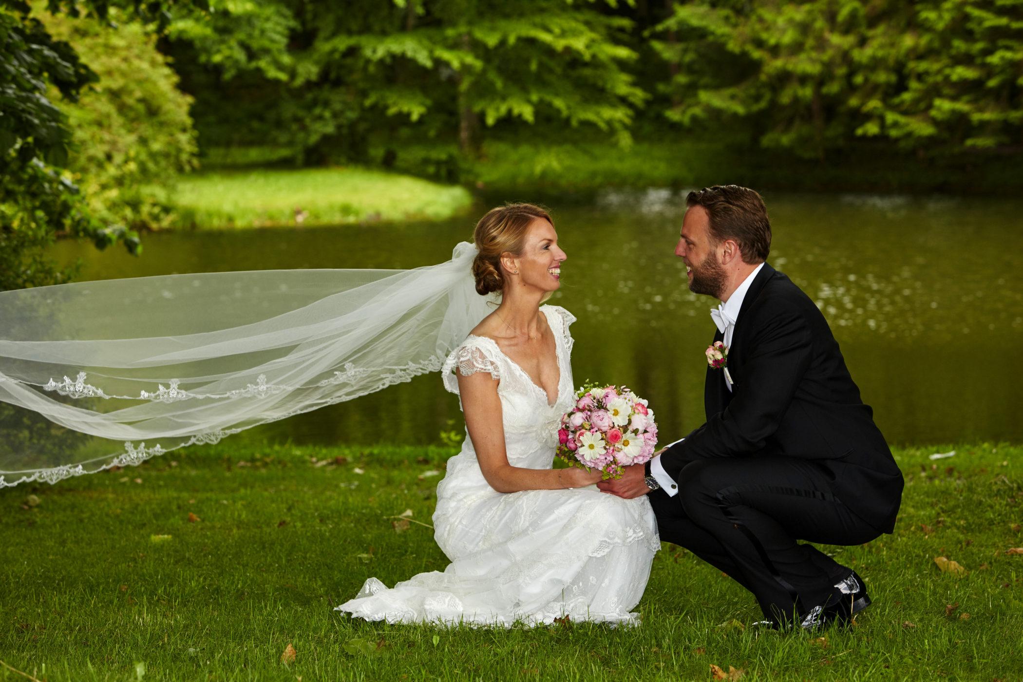 Hochzeit, Brautpaarfoto,