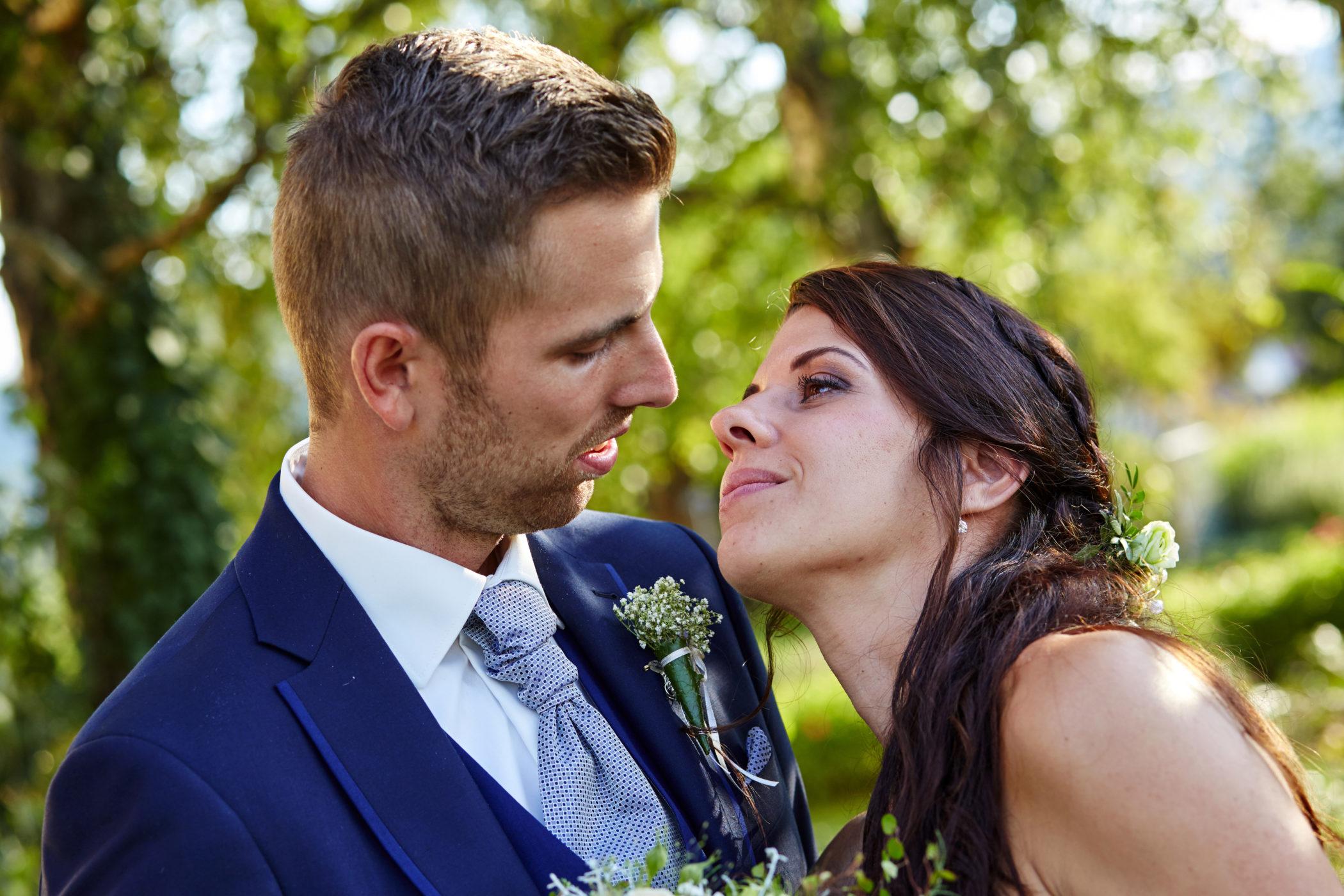 Hochzeitsfoto, Brautpaar,