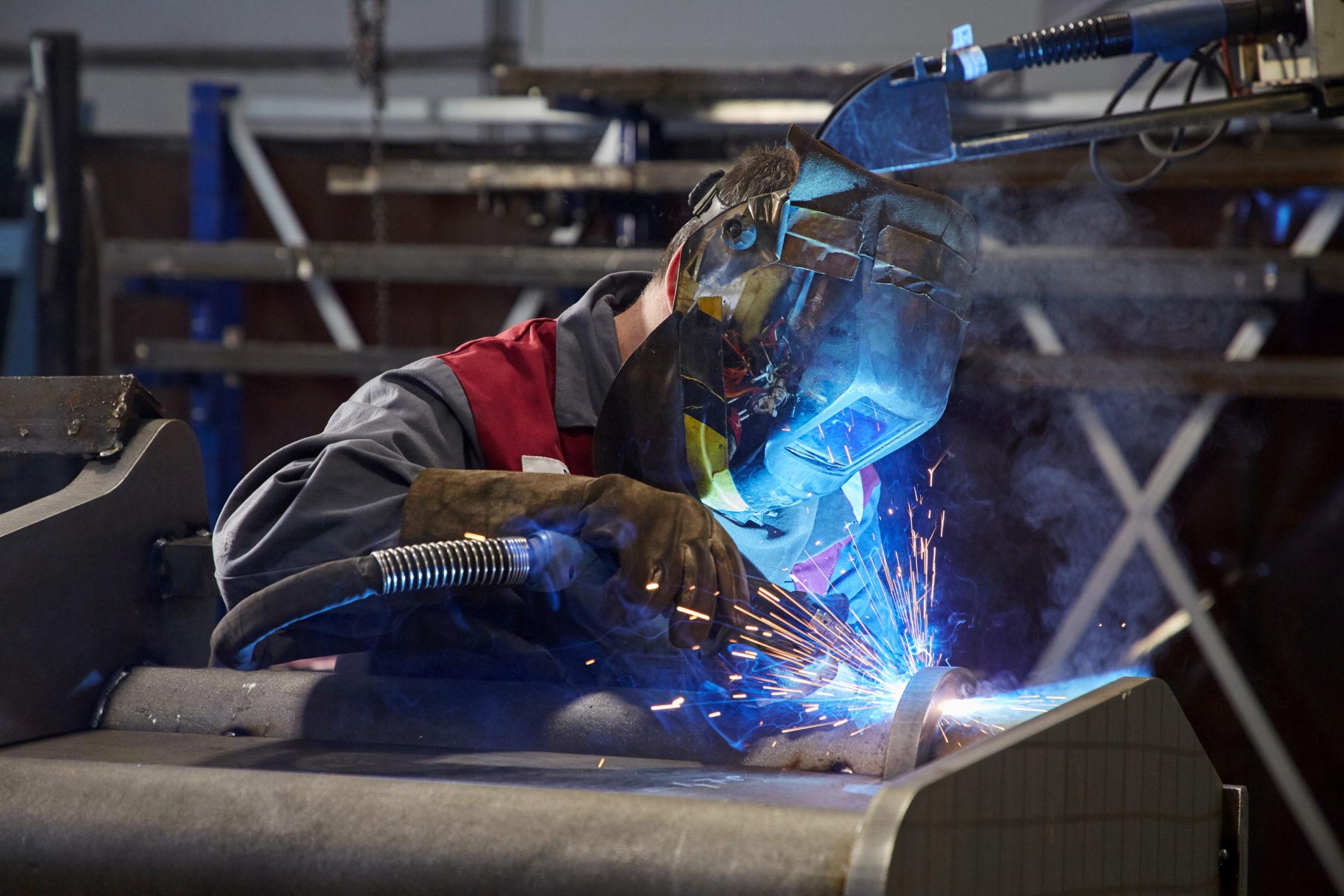 Winkelbauer GmbH, Schweissen, Metallverarbeitung